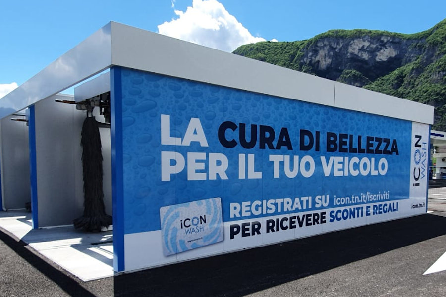 Icon Wash, lavaggio a Trento Nord   Trasposervizi